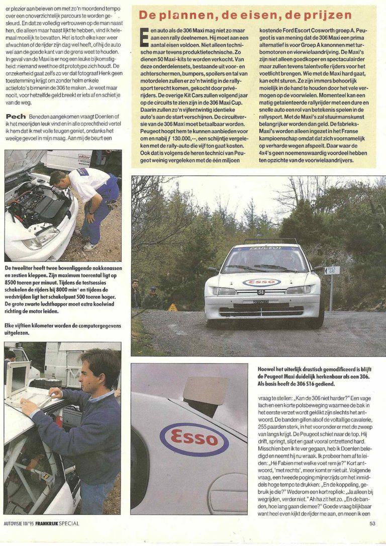 AutoVisie 10/1995 Frankrijk special